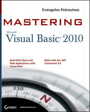 Mastering Microsoft Visual Basic 2010 (0470532874) cover image