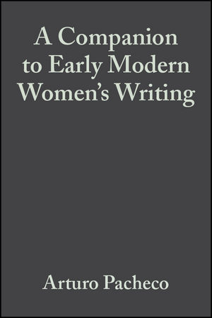 A Companion to Early Modern Women
