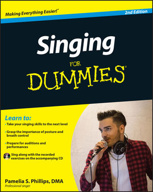 Singing For Dummies, 2nd Edition (0470934174) cover image