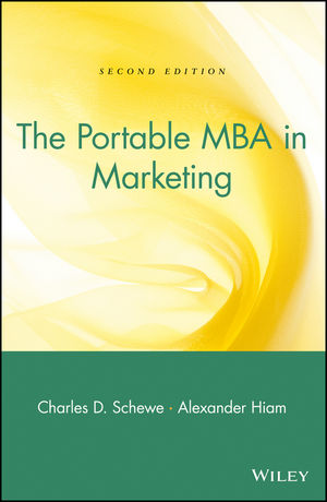 The Portable MBA in Marketing, 2nd Edition (0471193674) cover image