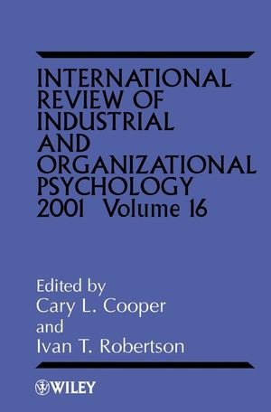 International Review of Industrial and Organizational Psychology, 2001 Volume 16 (0471492574) cover image