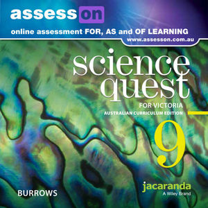 Assesson Science Quest 9 Australian Curriculum Victorian Edition (Online Purchase)