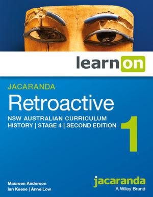Jacaranda Retroactive 1 Stage 4 NSW Australian Curriculum 2e learnON (Codes Emailed)