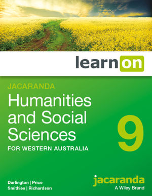 Jacaranda <span class='search-highlight'>Humanities</span> and Social Sciences 9 for Western Australia learnON (Online Purchase)