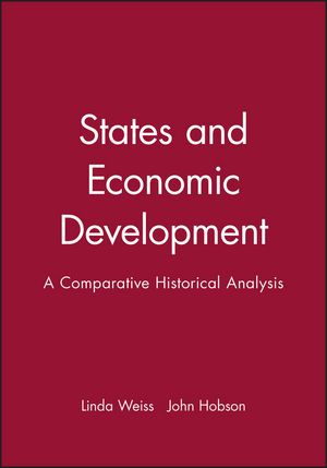 States and Economic Development: A Comparative Historical Analysis (0745614574) cover image