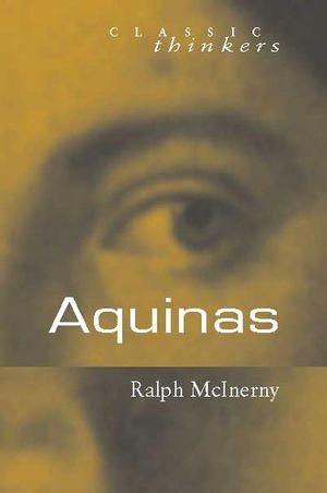Aquinas (0745626874) cover image