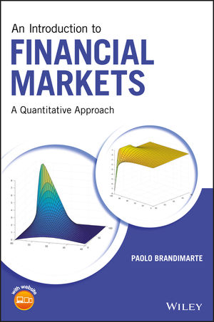 An Introduction to Financial Markets: A Quantitative Approach (1118014774) cover image