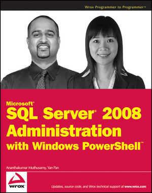 Microsoft SQL Server 2008 Administration with Windows PowerShell (1118058674) cover image