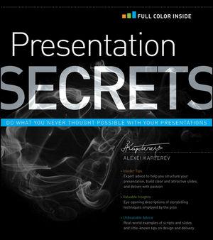 Presentation Secrets (1118170474) cover image
