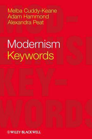 Modernism: Keywords (1118325974) cover image