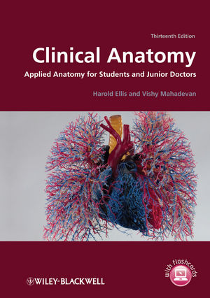 Clinical Anatomy: Applied Anatomy for Students and Junior Doctors, 13th Edition
