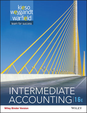 Intermediate Accounting, Binder Ready Version, Sixteenth Edition
