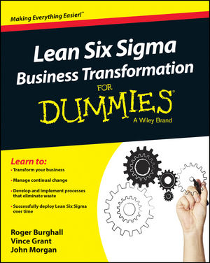 Lean Six Sigma Business Transformation For Dummies (1118844874) cover image