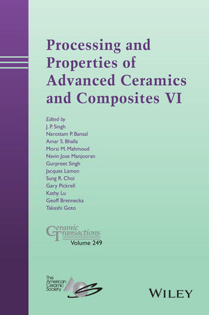 Processing and Properties of Advanced Ceramics and Composites VI (1118996674) cover image
