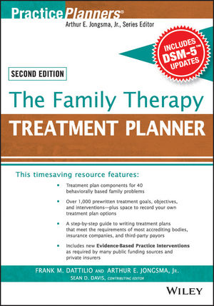 The Family Therapy Treatment Planner, with DSM-5 Updates, 2nd Edition (1119064074) cover image
