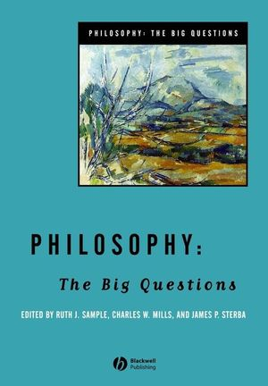 Philosophy: The Big Questions (1405108274) cover image
