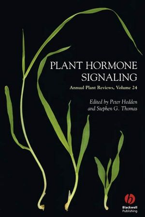 Annual Plant Reviews, Volume 24, Plant Hormone Signaling (1405138874) cover image