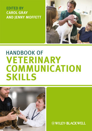 Handbook of Veterinary Communication Skills (1405158174) cover image