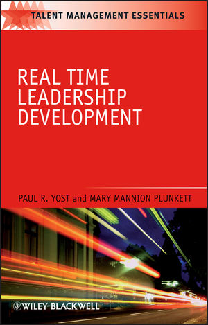 Real Time Leadership Development (1405186674) cover image