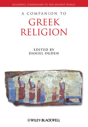 A Companion to Greek Religion (1444334174) cover image