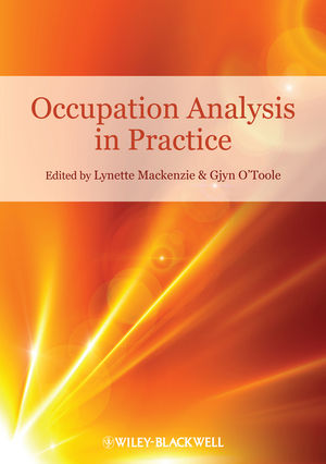 Occupation Analysis in Practice (1444339974) cover image