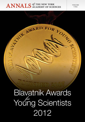 Blavatnik Awards for Young Scientists 2012, Volume 1293 (1573319074) cover image