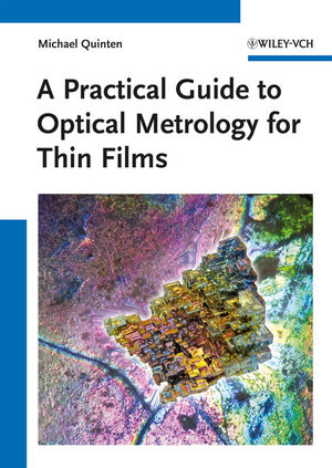 A Practical Guide to Optical Metrology for Thin Films (3527411674) cover image