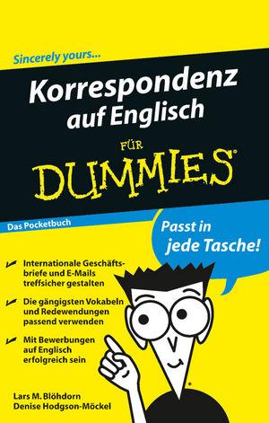Korrespondenz auf Englisch fur Dummies Das Pocketbuch