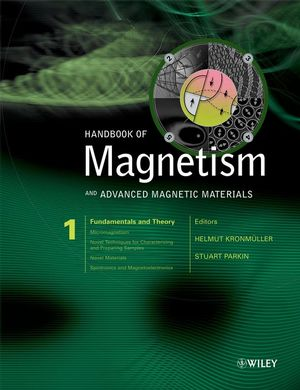Handbook of Magnetism and Advanced Magnetic Materials, 5 Volume Set (0470022175) cover image