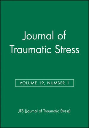 Journal of Traumatic Stress, Volume 19, Number 1