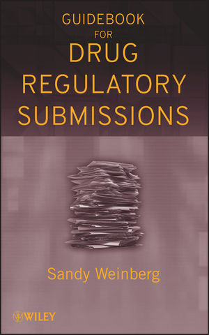 Guidebook for Drug Regulatory Submissions  (0470456175) cover image