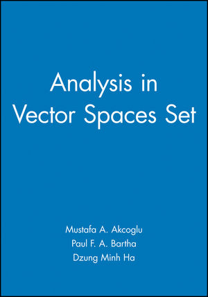 Analysis in Vector Spaces Set