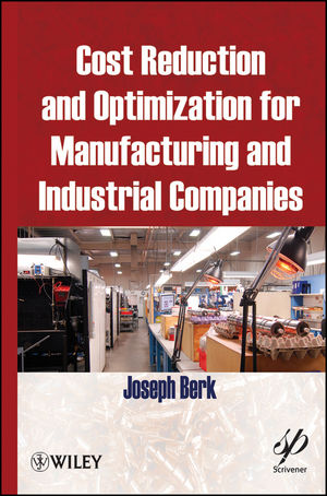 Cost Reduction and Optimization for Manufacturing and Industrial Companies (0470609575) cover image