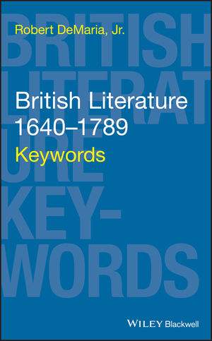 British Literature 1640-1789: Keywords