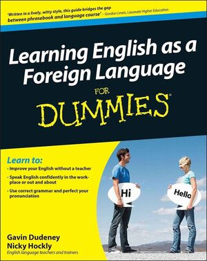 Learning English as a Foreign Language For Dummies (0470685875) cover image