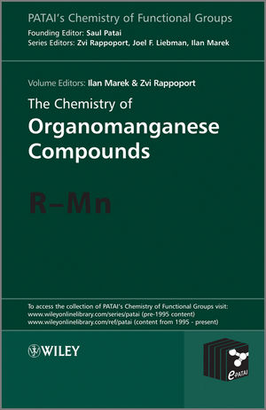 The Chemistry of Organomanganese Compounds: R - Mn (0470749075) cover image