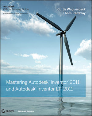 Mastering Autodesk Inventor and Autodesk Inventor LT 2011 (0470882875) cover image