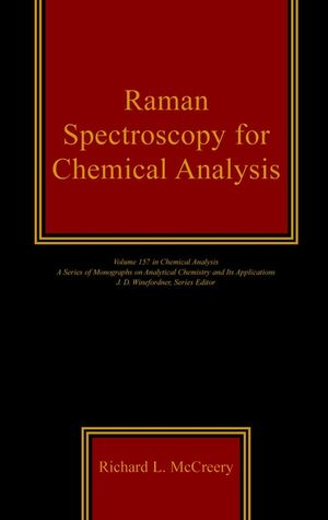 Raman Spectroscopy for Chemical Analysis (0471252875) cover image
