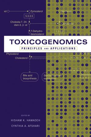 Toxicogenomics: Principles and Applications (0471434175) cover image