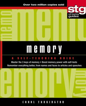 Memory: A Self-Teaching Guide (0471462675) cover image