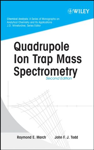 Quadrupole Ion Trap Mass Spectrometry, 2nd Edition (0471717975) cover image