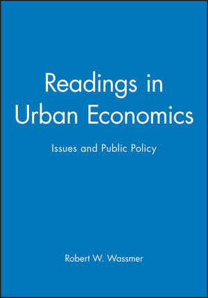 Readings in Urban Economics: Issues and Public Policy (0631215875) cover image