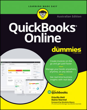 QuickBooks Online For Dummies, Australian Edition (0730344975) cover image