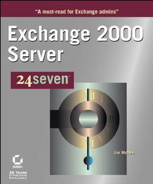 Exchange 2000 Server 24seven (0782127975) cover image