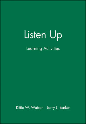 Listen Up: Learning Activities (0883904675) cover image