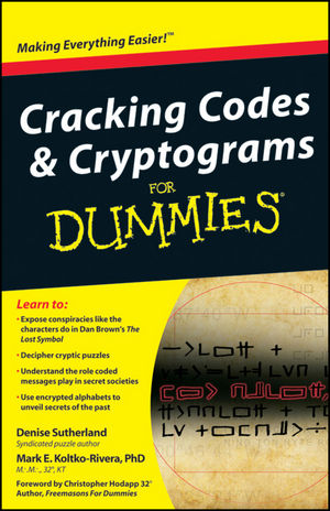 Cracking Codes and Cryptograms For Dummies (1118068475) cover image