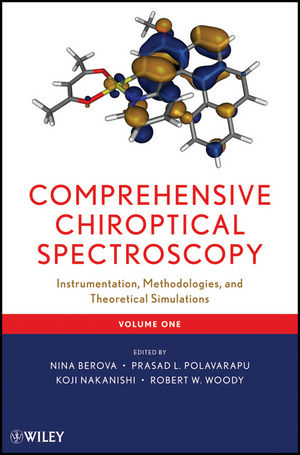 Comprehensive Chiroptical Spectroscopy, Volume 1, Instrumentation, Methodologies, and Theoretical Simulations (1118120175) cover image