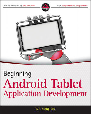 Beginning Android Tablet Application Development (1118150775) cover image