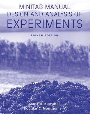 Minitab Manual Design and Analysis of Experiments, 8th Edition