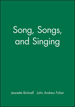 Song, Songs, and Singing